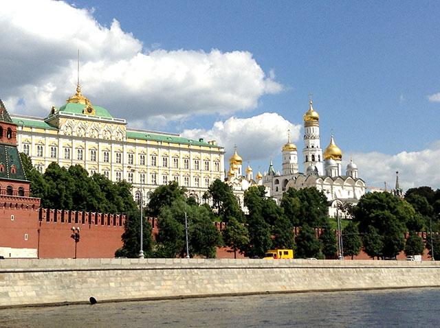 Кремля - вид с набережной