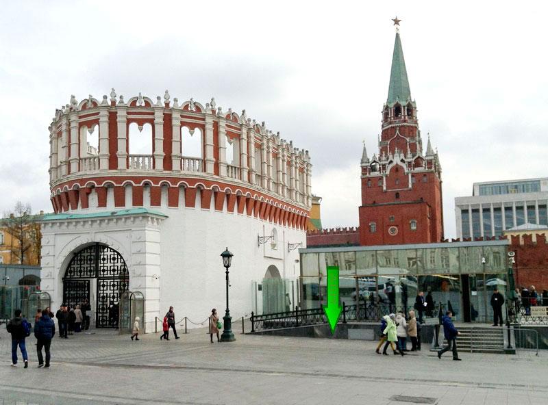 башня Московского Кремля,